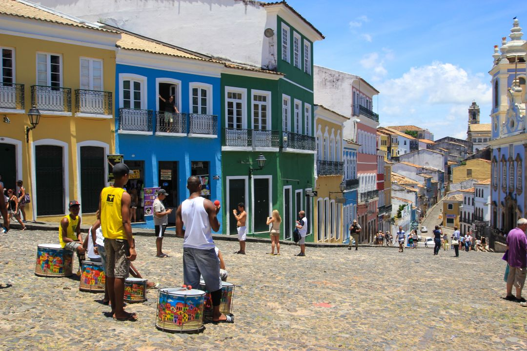 The Pelourinho - Salvador, Brazil