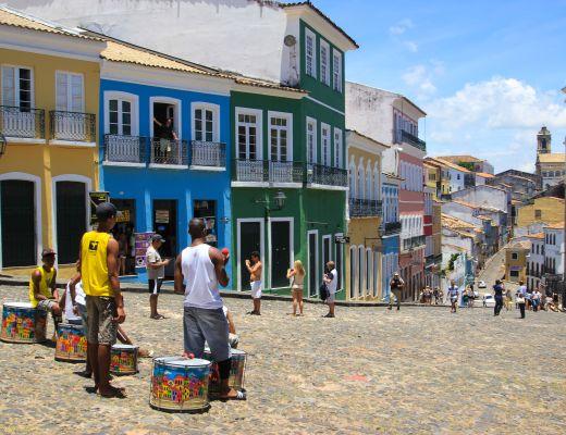 The Pelourinho - Salvador, Brazil