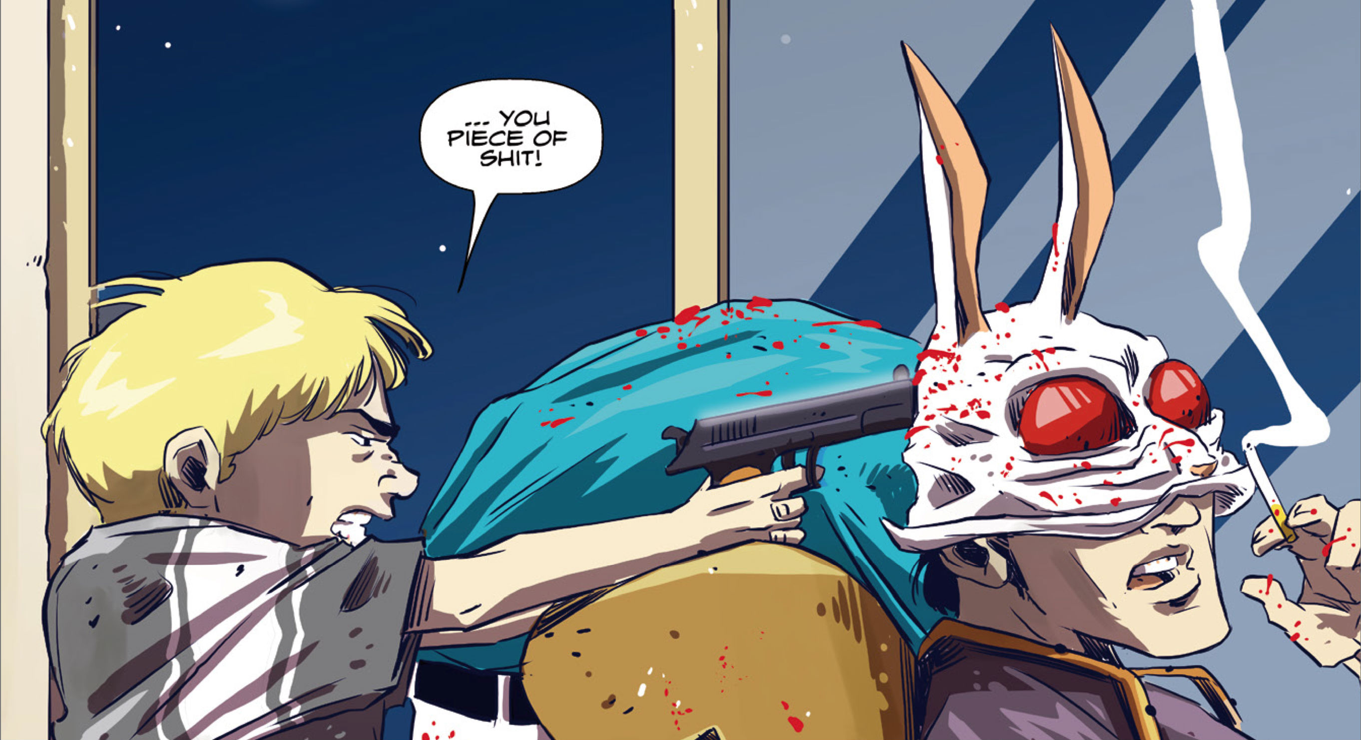 Pizza Wallpaper Cute Hotline Miami Wildlife Issue 1 Review Hey Poor Player