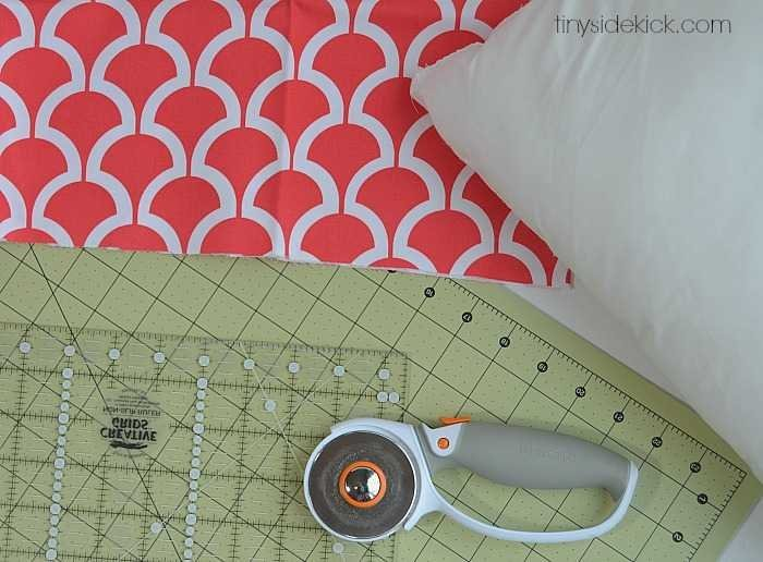 How to make an envelope pillow cover