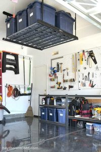 DIY Garage Organization Systems - Garage Reveal