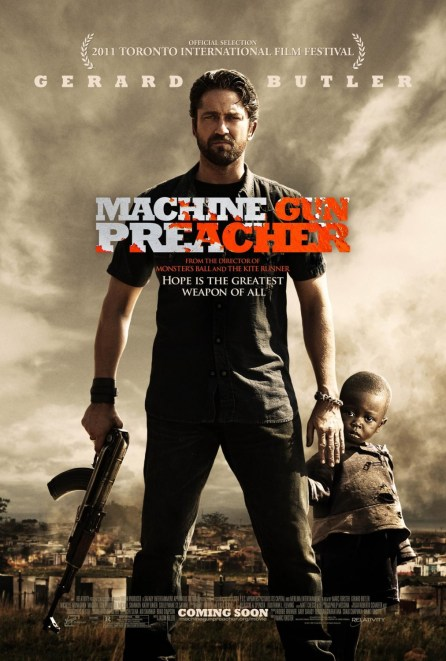 machine gun preacher, gerard butler, Hot Guys With Guns