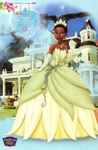 Princess and the Frog Poster