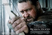 Robin Hood Quad Poster1 220x150 First Posters for Robin Hood Released