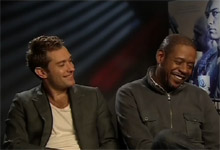 Jude Law and Forest Whittaker Repo Men Interview with Jude Law and Forest Whittaker