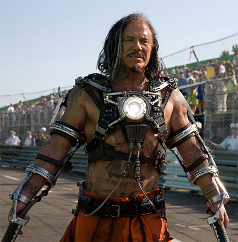 Mickey Rourke Whiplash Iron Man 2 movie image Iron Man 2 Review