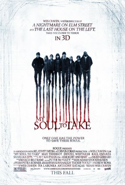 My Soul to Take 405x600 My Soul to Take Official Poster