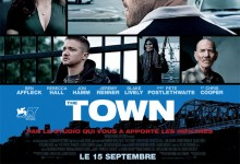 The Town 220x150 French Poster for Ben Afflecks The Town