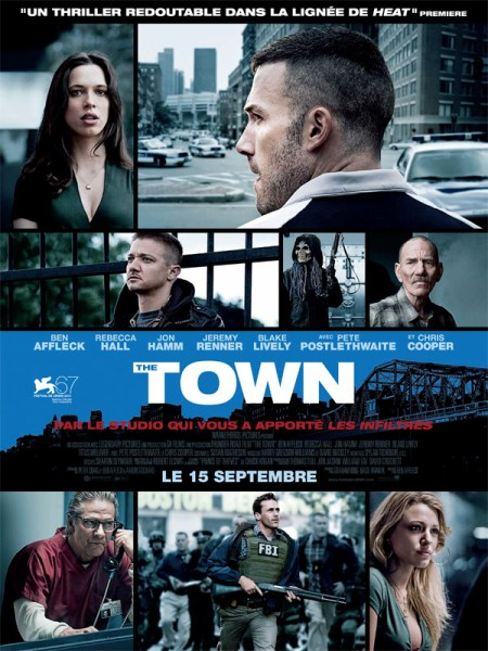 The Town 450x600 French Poster for Ben Afflecks The Town