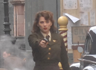 Hayley Atwell Crop First Images of Hayley Atwell in Captain America + More Carnage!