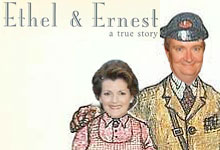 ethel and ernest Brenda Blethyn and Jim Broadbent to voice Raymond Briggs Ethel & Ernest