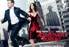 Adjustment Bureau UK Poster 220x150 New US and UK Posters for The Adjustment Bureau Show a Lot of Running!