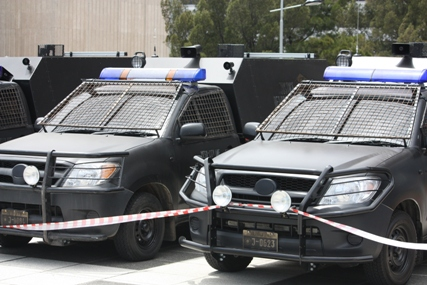 Dredd set 21 New Images From Dredd Reveal Police Vehicles