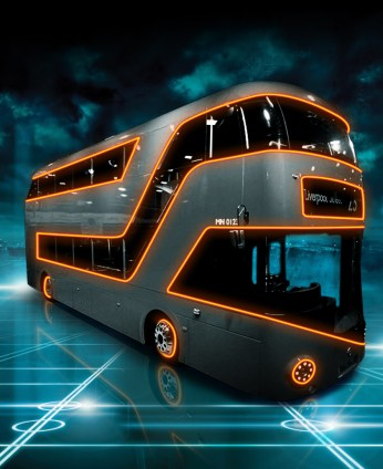 Awesome Tron Legacy Fan Art puts Buzz Lightyear and a London Bus on The Grid