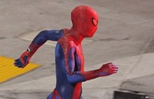 Spider Man Set Pics 1 e1295642992847 220x142 New Set Pics from Spider Man Show Webshooters and Mask