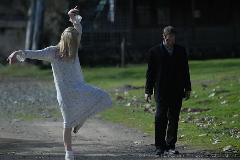 Elle Fanning Still Scary as More Production Pics from Twixt Appear