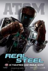 Real Steel Poster - Atom