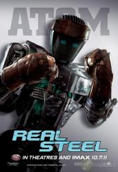 Four New Robot Character Posters for Real Steel