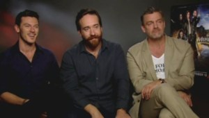 The Three Musketeers Exclusive Interview   Luke Evans, Matthew Macfadyen & Ray Stevenson Talk The Three Musketeers