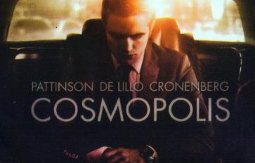 cosmopolis poster Hard Hitting First Trailer for David Cronenbergs Cosmopolis starring Robert Pattinson