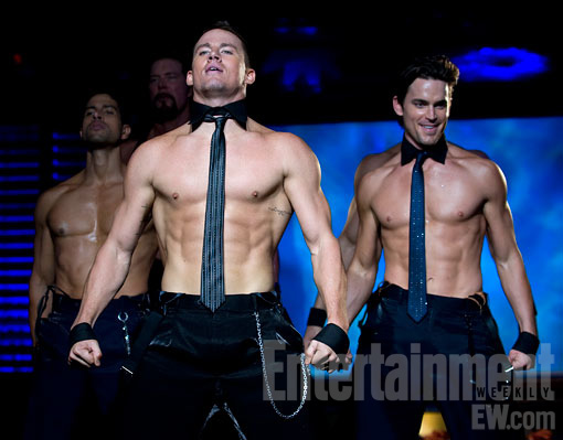 Magic Mike 1 Channing Tatum, Alex Pettyfer and Matt Bomer Go Topless In New Magic Mike Images