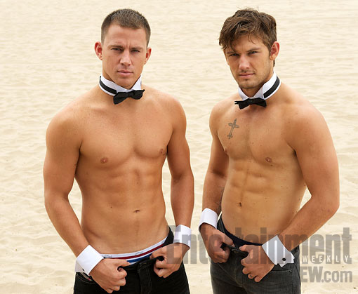 Magic Mike 2 Channing Tatum, Alex Pettyfer and Matt Bomer Go Topless In New Magic Mike Images