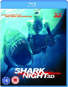Shark Night 3D Blu ray Review