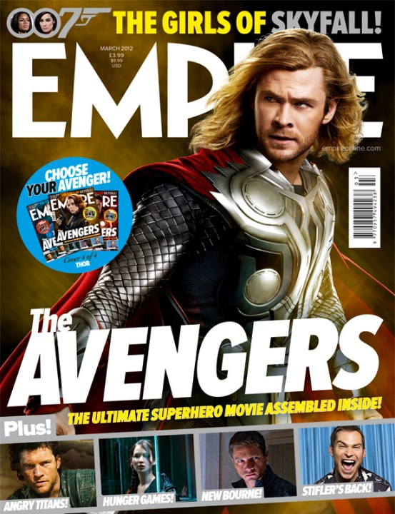 The Avengers Empire 1 The Avengers Grace The Cover Of Empire And More Great New Images And Plot Updates