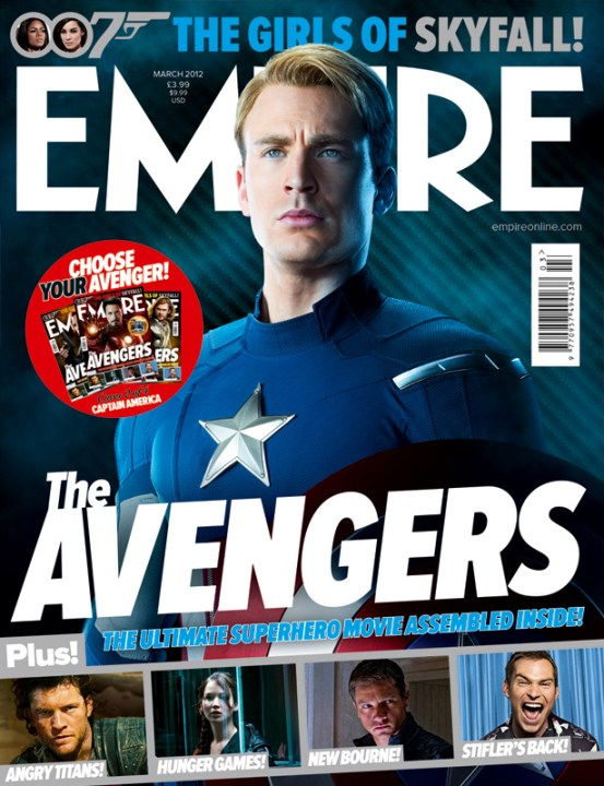 The Avengers Empire 4 The Avengers Grace The Cover Of Empire And More Great New Images And Plot Updates