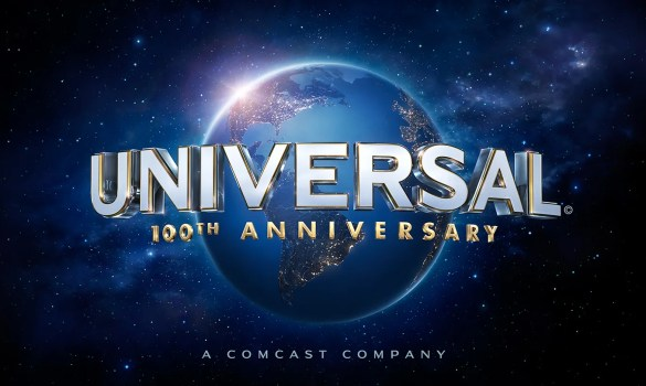 Universal Studios Centenery Logo 585x350 Universal Announces 2014/15 Release Dates and Synopses for Pitch Perfect 2, Crimson Peak & More