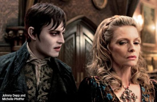 darkshadows New Image of an Undead Johnny Depp in Dark Shadows