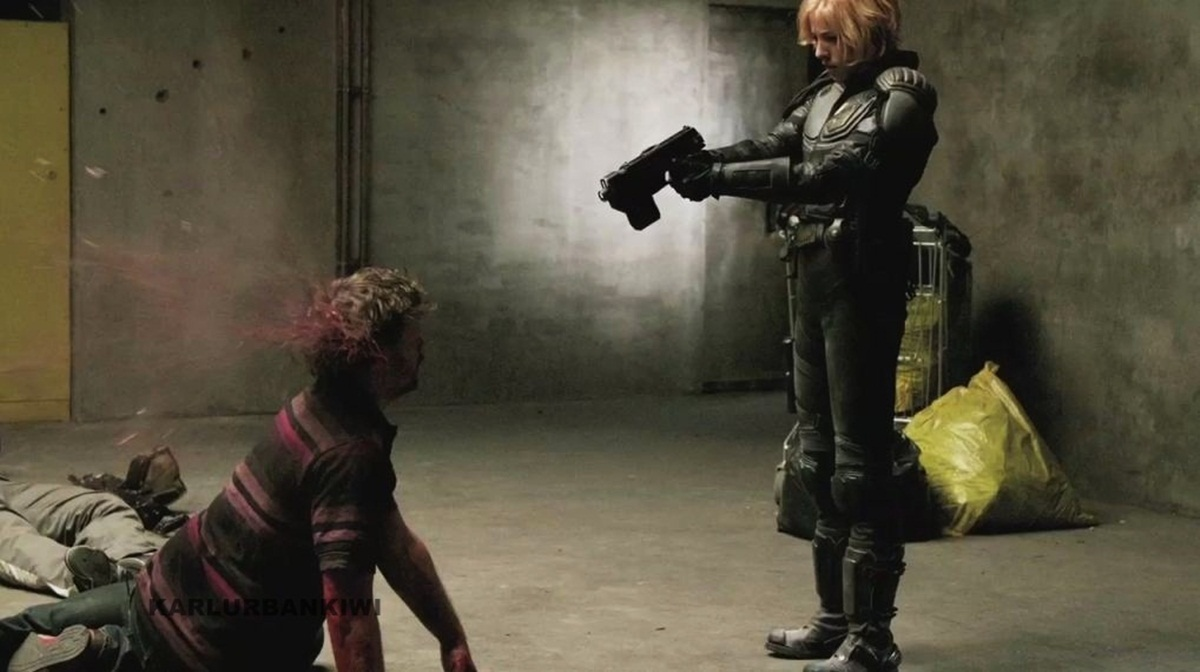Olivia Thirlby Shoots Out the Back of a Guy's Head in New Images from Dredd