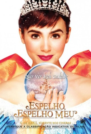 Mirror, Mirror Poster - Lily Collins