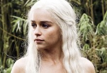 Emilia Clarke Game of Thrones 220x150 Game of Thrones Interview – Emilia Clarke (Daenerys Targaryen)