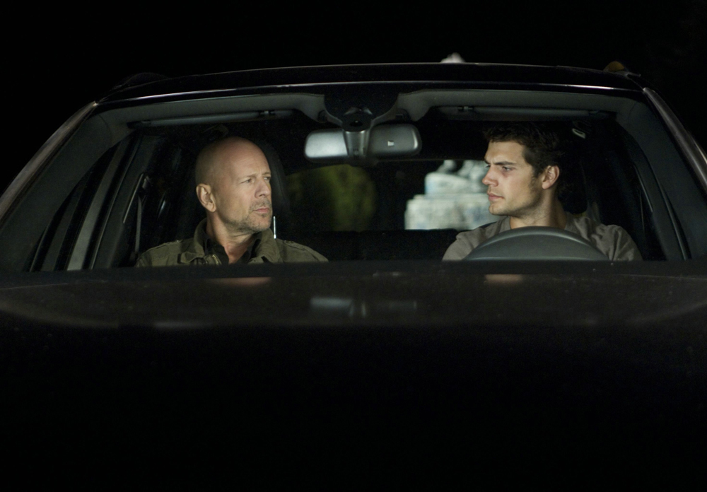 New Images and Clip from The Cold Light Of Day with Bruce Willis and Henry Cavill