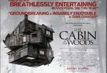 Cabin in the Woods Poster 220x150 HeyUGuys UK DVD/Blu ray Round Up – 24th September