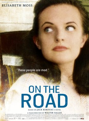 On the Road poster Elisabeth Moss 441x600 Cannes 2012: On the Road Movie Review