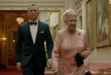 Daniel Craig and The Queen 220x150 Video: Watch James Bond Meet The Queen in Olympics Opening Ceremony