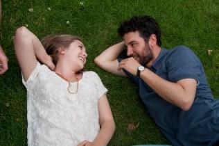 Josh Radnor and Elizabeth Olsen in Liberal Arts