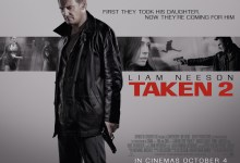 Taken 2 UK Poster Quad 220x150 2 New Clips from Taken 2