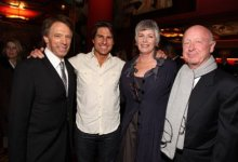 Tom Cruise, Kelly McGillis, Jerry Bruckheimer and Tony Scott at Prince of Persia Premiere