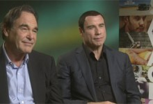 Oliver Stone and John Travolta 220x150 HeyUGuys Interview   Oliver Stone and John Travolta Talk Savages