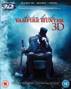 Abraham Lincoln BD 3D Abraham Lincoln: Vampire Hunter   Blu ray Review