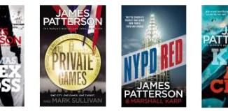 James-Patterson-Books