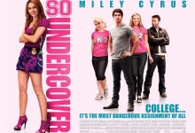 So Undercover Quad Poster 220x150 First Trailer & Posters for So Undercover with Miley Cyrus & Jeremy Piven