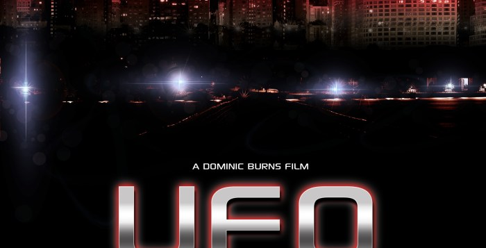 Exclusive first trailer and new poster released for ufo