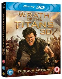 Wrath of the Titans Blu ray Win Wrath of the Titans on 3D Blu ray