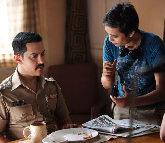 Reema Kagti and Aamir Khan shot from Talaash