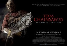 Texas Chainsaw 3D UK Quad Poster 220x150 New TV Spot for Texas Chainsaw 3D – 'A New Beginning. Same Legend.'