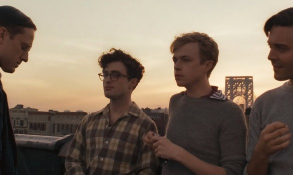 Ben Foster Daniel Radcliffe Dane DeHaan and Jack Huston in Kill Your Darlings 585x350 LFF 2013: Kill Your Darlings Review